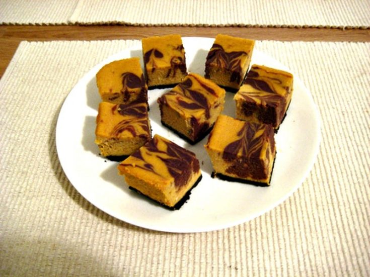 Chocolate Pumpkin Cheesecake Bars Recipe