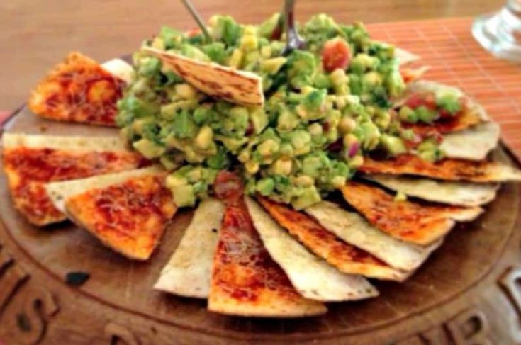 Guacamole Pizza Recipe