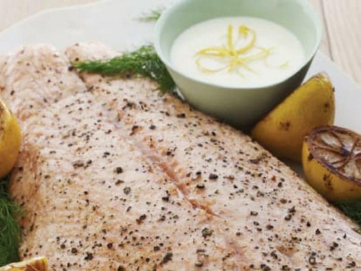 Salmon With Lemon Sauce