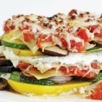 Roasted Zucchini And Summer Squash Lasagna
