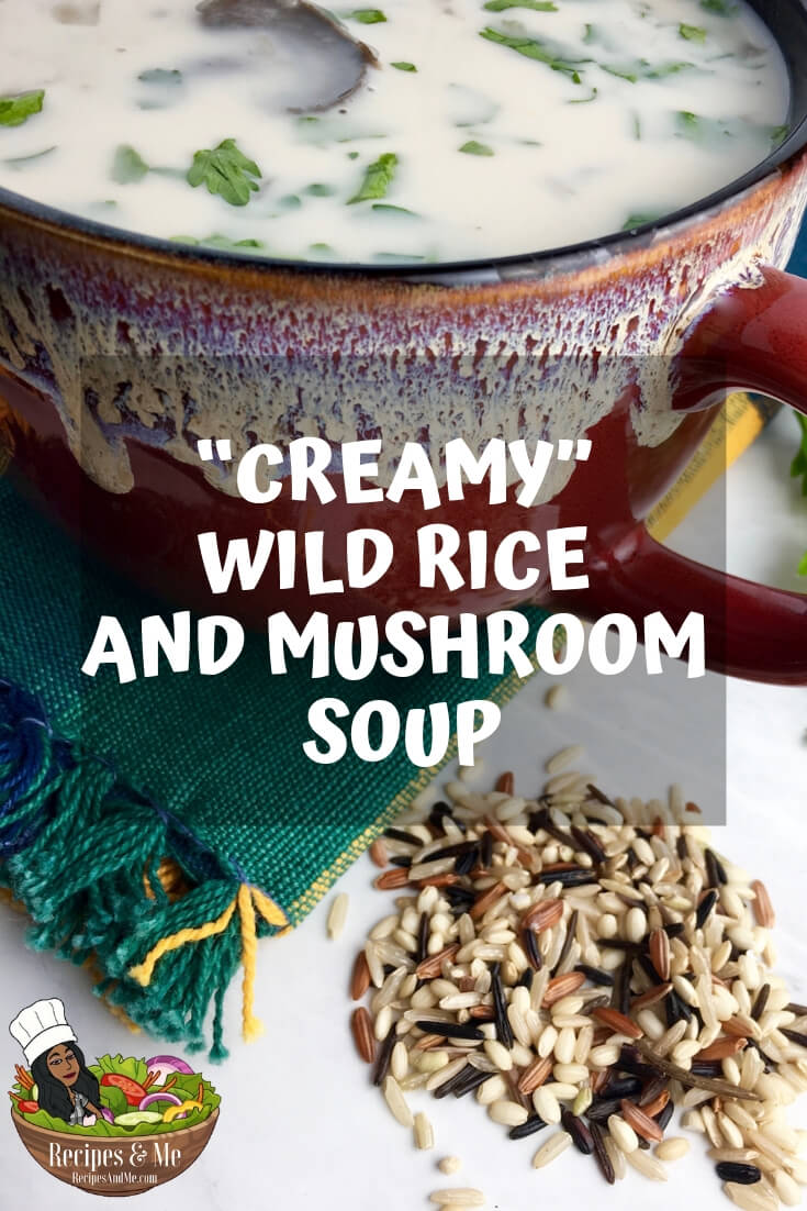 This satisfying, earthy soup is so warm and comforting. The wild rice is filling, while the finely minced and chopped vegetables give the soup a more consistent flavor throughout. #recipes #Healthy #Dinner #lunch #cooking #simple #soup #mealprep #Easy