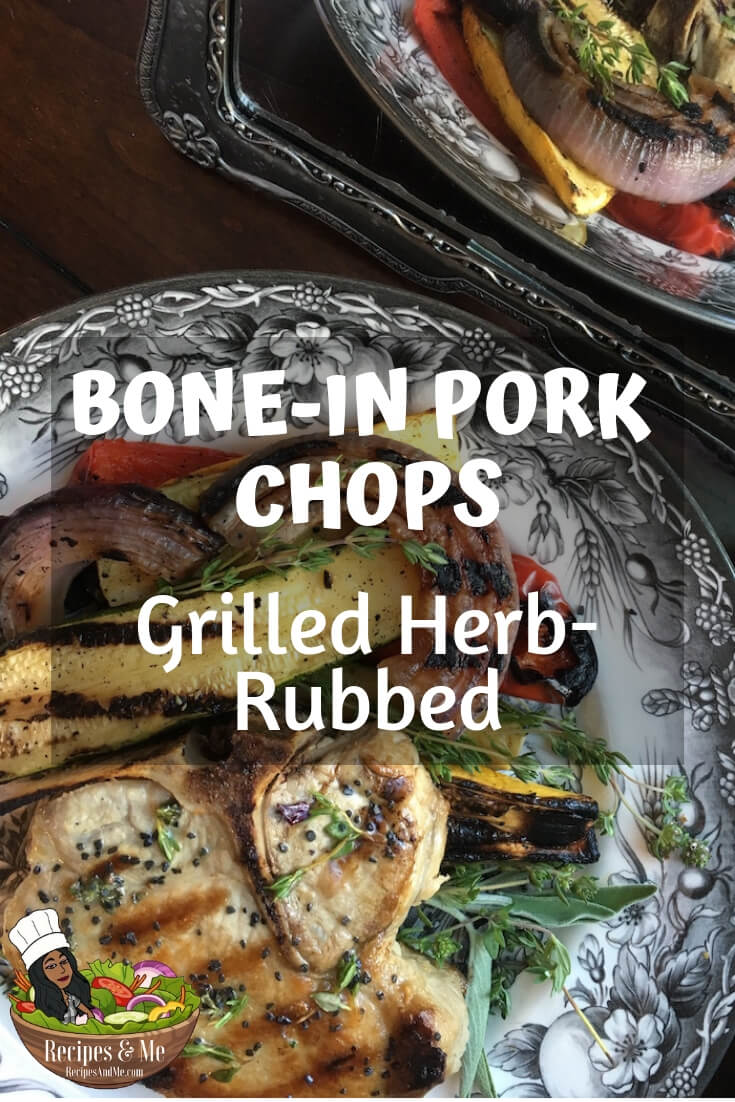 Grilling pork chops is an entirely different experience than grilling red meat. #porkchops #recipes #Healthy #Dinner #cooking #simple #mealprep #Easy