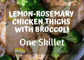 This one-skillet recipe is packed with flavor and is oh-so-easy to prepare. #recipes #Healthy #chicken #broccoli #Dinner #lunch #cooking #simple #mealprep #Easy