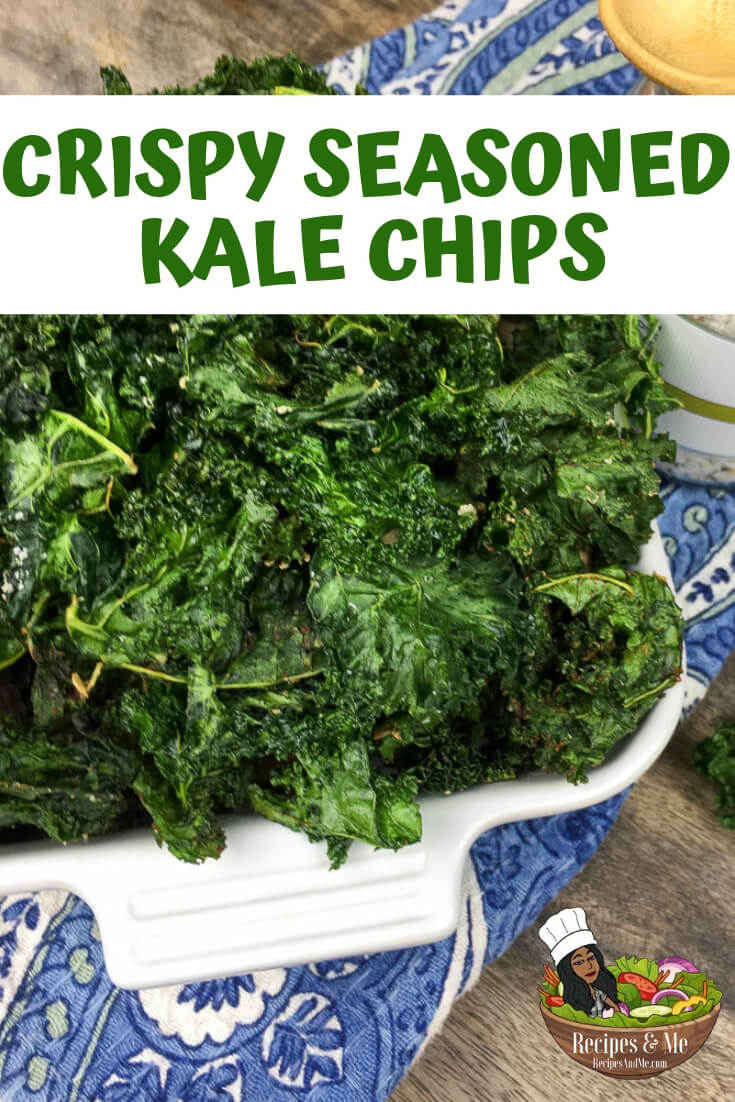 These crispy kale chips are super easy to make, but there are a couple things to keep in mind before you begin. #KaleChips #KaleChipsRecipe #RecipesWithKaleChips #Baked #Vegan #Crispy #Recipe #Keto #RecipesAndMe