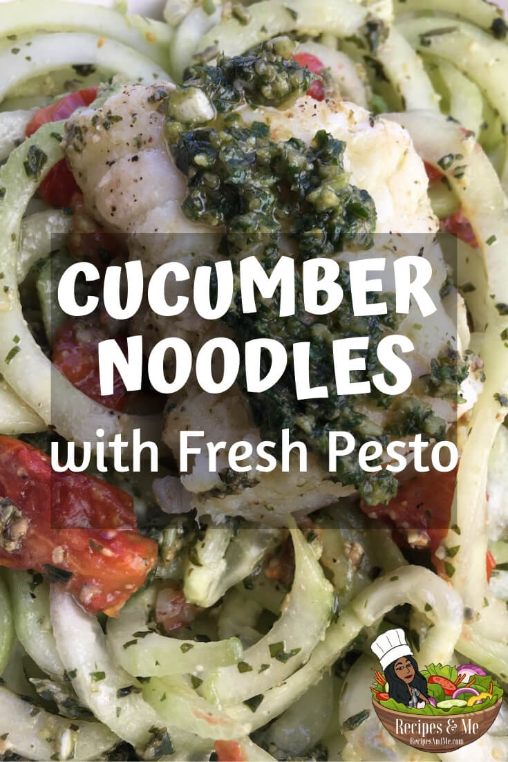 This super easy low-carb dish is a great way to savor the delicious, natural flavors of fresh cucumber, basil, garlic, and toasted pine nuts. #recipes #Healthy #Dinner #Breakfast #lunch #snack #cooking #simple #mealprep #Easy