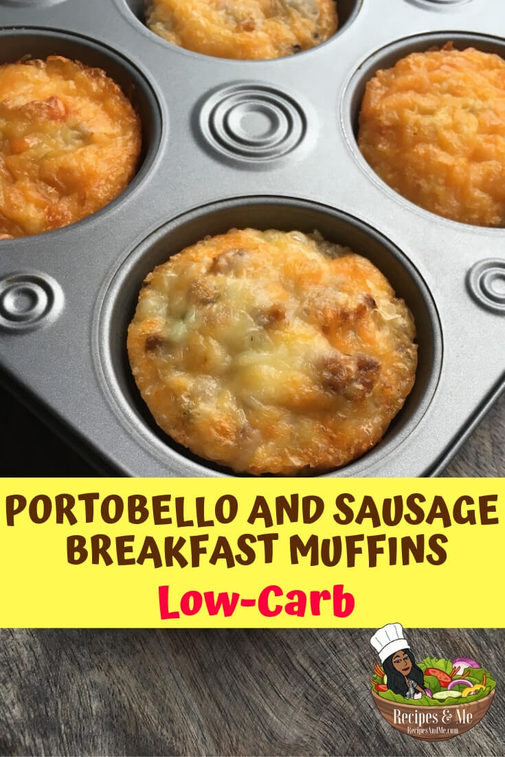 These tasty low-carb breakfast muffins are the perfect make-ahead meal for those busy mornings when you don't have 5 minutes to spare. #recipes #Healthy #Dinner #Breakfast #lunch #snack #cooking #simple #mealprep #Easy #lowcarb