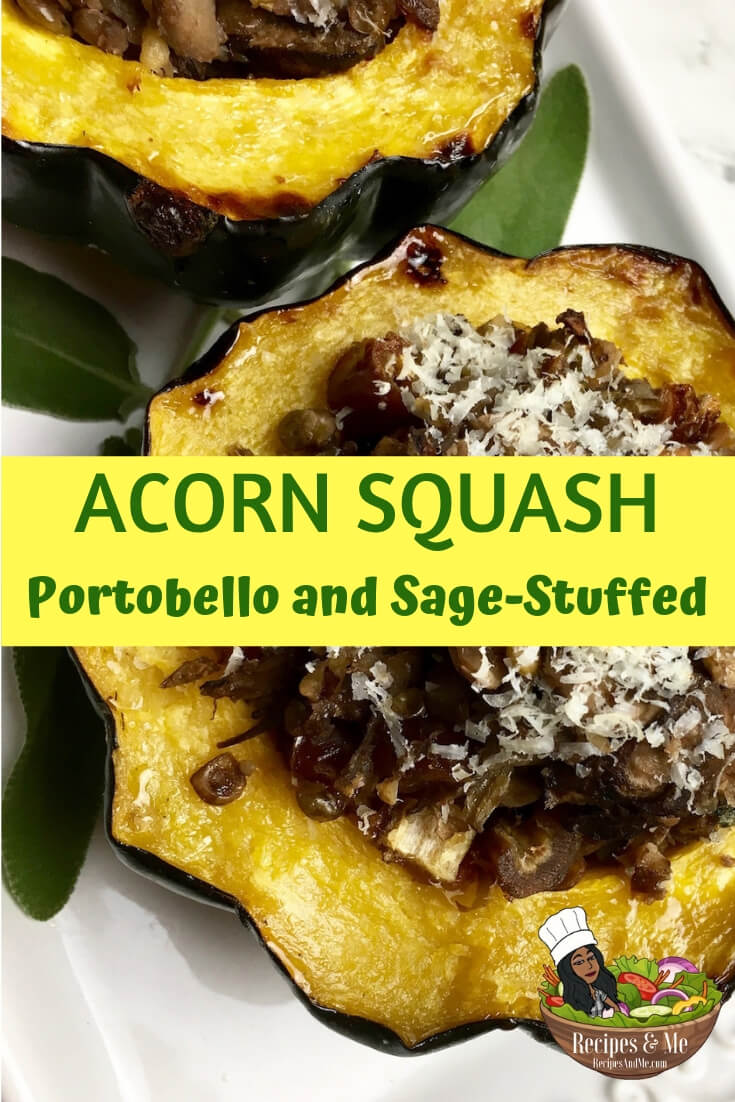 This protein-packed stuffed acorn squash provides a healthy and tasty alternative to traditional holiday side dishes. #recipes #holiday #Christmas #Thanksgiving #Dinner #Easy #Healthy #Ideas #Family #Fall #Appetizers #MainDishes #Dinner #Sides #Healthy #Simple #Savory #Kitchens