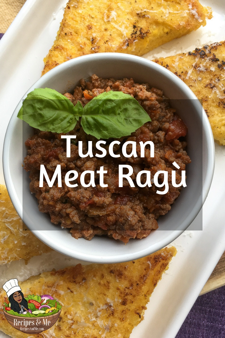 One of the most surprising things about this hearty meat ragù is its depth of flavor. #FoodIdeas #HealthyFood #HealthyFoodRecipes #Tuscan #MeatRagu