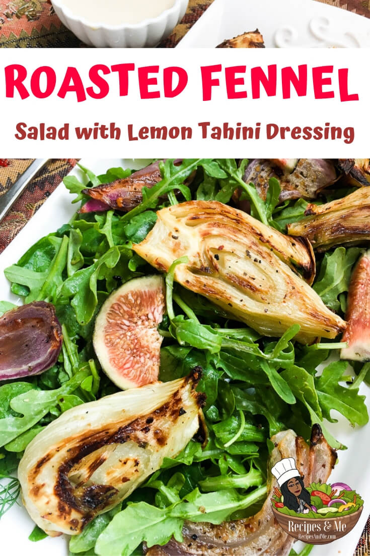 The natural sweetness of roasted fennel and red onion add subtle depth to this beautiful and delicious salad, while the addition of preserved lemon rind adds an unexpected pop of flavor to the dressing. #recipes #Healthy #Dinner #Breakfast #lunch #snack #cooking #simple #mealprep #Easy