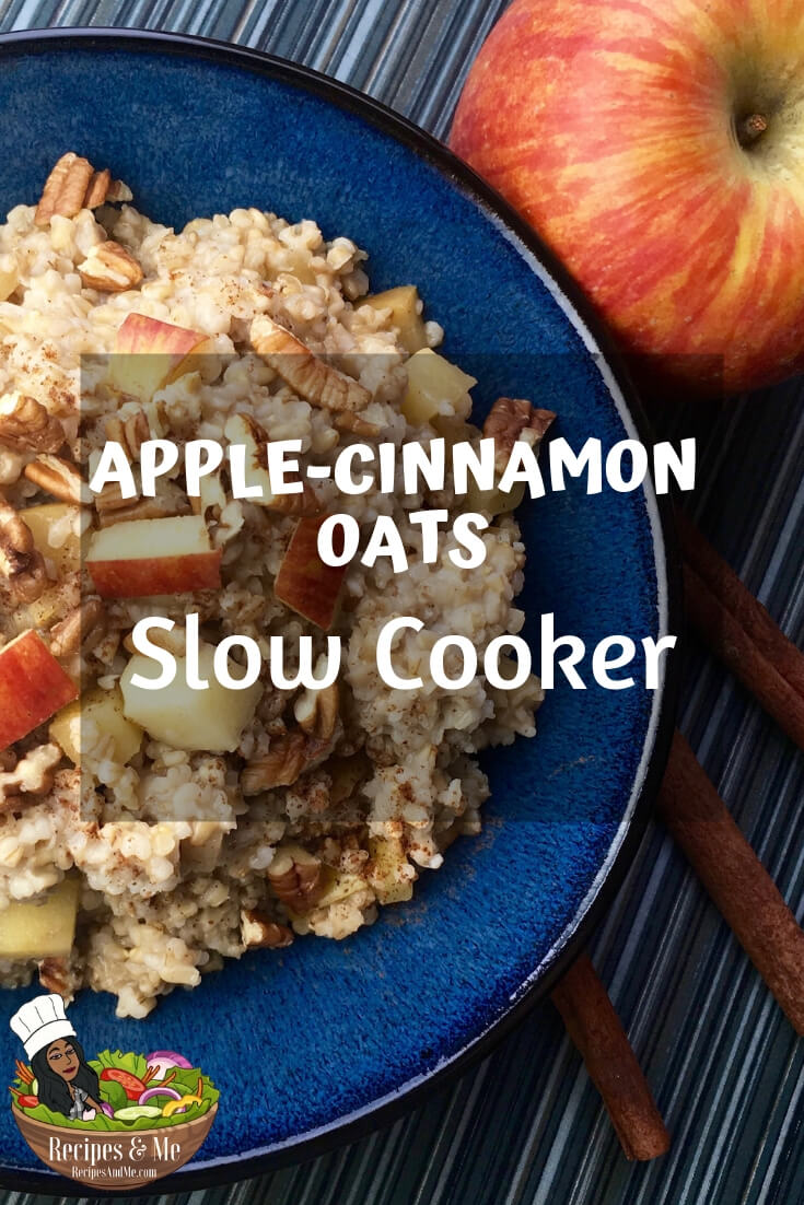 Mornings can be hectic, so this make-ahead recipe means one less thing you need to do before you start your day. #recipes #slowcooker #oats #Healthy #Breakfast #cooking #simple #mealprep #Easy