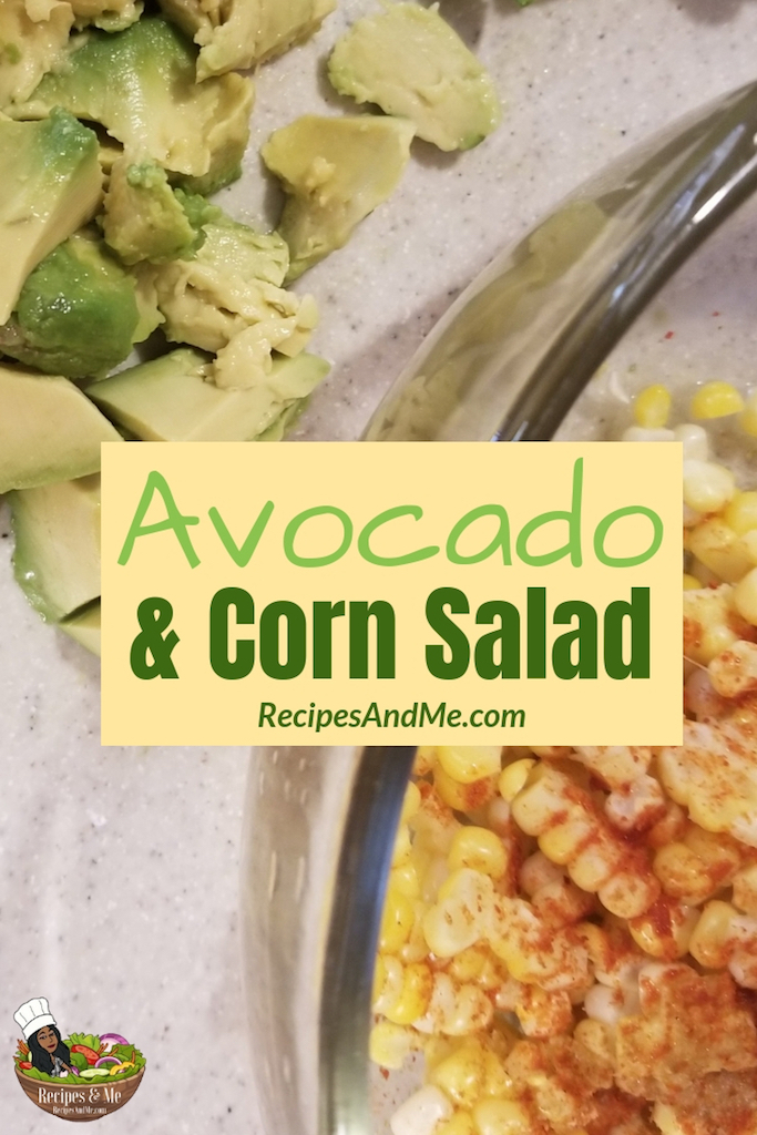 If you love guacamole but prefer to leave behind the tortilla chips, then you'll love this avocado and corn salad. Not only does it give you the creamy, cool flavor of avocado, but it also has corn. #HealthFoodRecipes #Avocado #AvocadoCornSalad #AvocadoRecipe #Corn #SaladRecipe