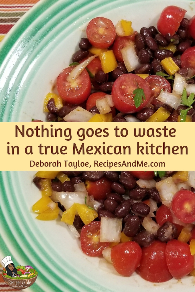 Most Mexicans live simply and without pretense. They take nothing for granted and practiced zero-waste living before it was a trend. #MexicanSalad #Dressing #Recipes #Chopped #Healthy #Easy #Lettuce #Authentic #BlackBean #Layered #Vegan #Romaine #Taco #Avocado #Bowl #Vegetarian #Simple #Corn #MakeAhead #Side #ForACrowd #Ideas #Cilantro #Chipotle