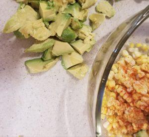 Avocado Corn Salad: Simple flavors, bold seasoning. EASY AVOCADO CORN SALAD - Delicious and Super Simple. RecipesAndMe #HealthFoodRecipes #Avocado #AvocadoCornSalad #AvocadoRecipe #Corn #SaladRecipe #RecipesAndMe.com