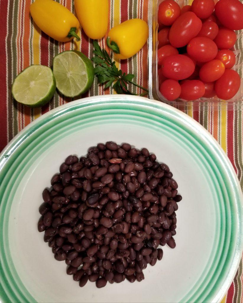 Savory Black Bean Salad