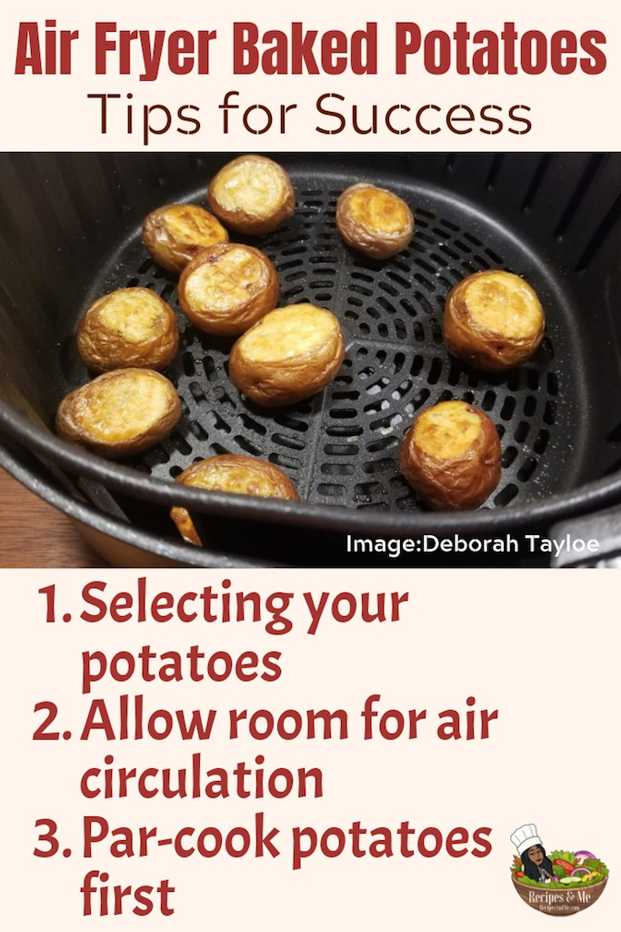 Air fryer potato skins offer you an ideal snack or finger food to serve all year long. During the summer, you can top them with fresh garden herbs. And in the winter, you can add the traditional heavier toppings. #airfryer #potatoes #baked #recipes #breakfast #healthy #easy #vegan #food #kitchen #tips #ideas #cooking #meals #howtocooka #simple #bites #sides #vegetarian #lunch #dinner #vegetable #sidedishes #quick #appetizers