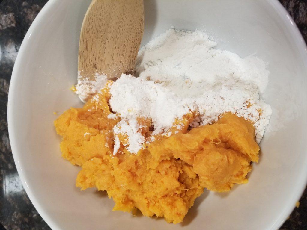 air fryer sweet potato fritters
