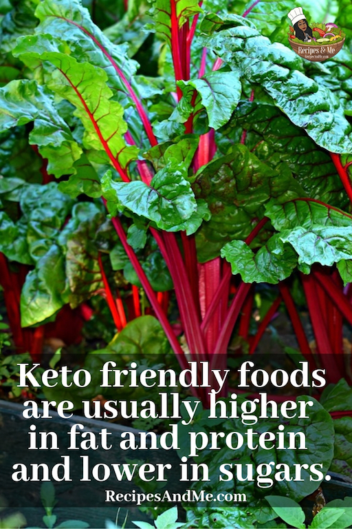 Keto-friendly foods are usually higher in fat and protein and lower in sugars. #keto #DietForBeginners #Recipes #MealPlan #Dessert #Breakfast #Snacks #Dinner #BeforeAndAfter #FatBombs #FoodList #Lunch #Pizza #Easy #Vegetables #vegetarian #zucchini