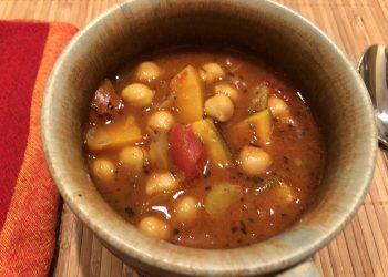 winter squash, gypsy soup