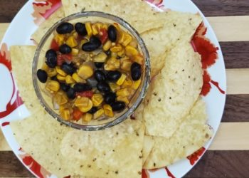 corn salsa with black beans