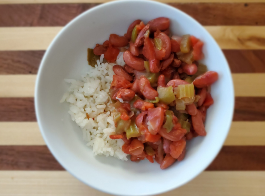 cajun red beans and rice recipe