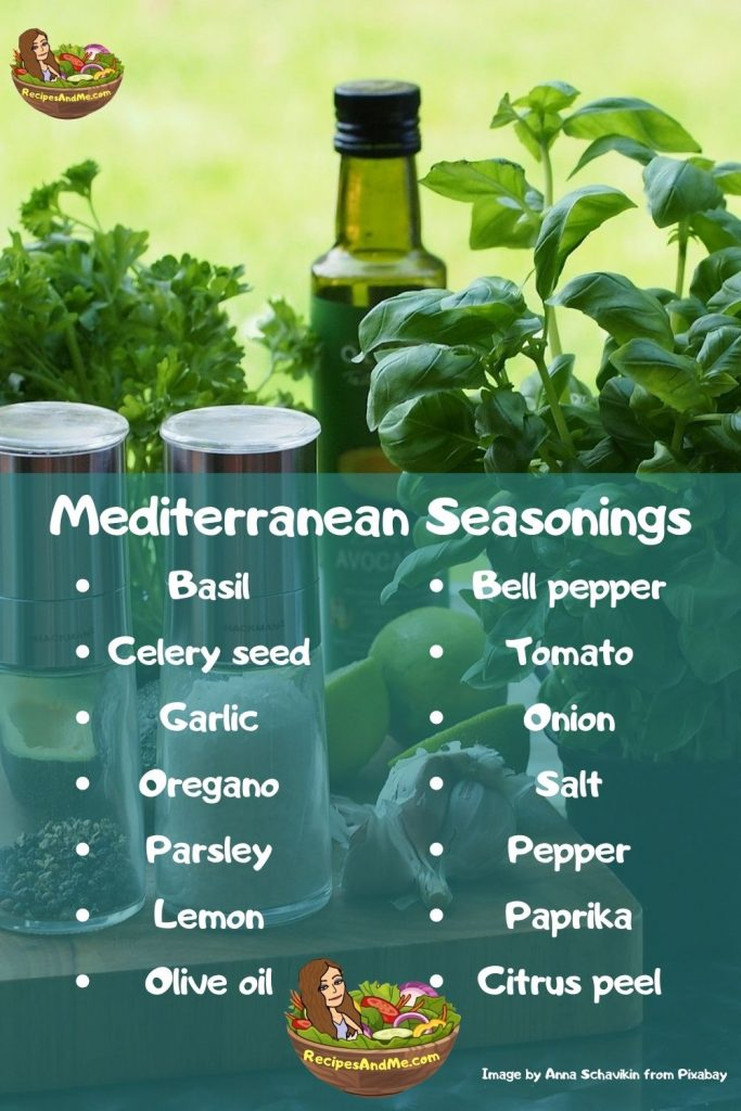 POPULAR SEASONINGS Best for Roasted MEDITERRANEAN Vegetables  - great for easy, delicious, healthy meals and side dishes. #RoastedMediterraneanVegetables#RoastedMediterraneanVeggies #RoastedVeggies #RoastedVegetables #HealthyMeals #HealthySideDishes #EasyHealthyMeals #EasyVeggies #EasyVegetables #RecipesAndMe