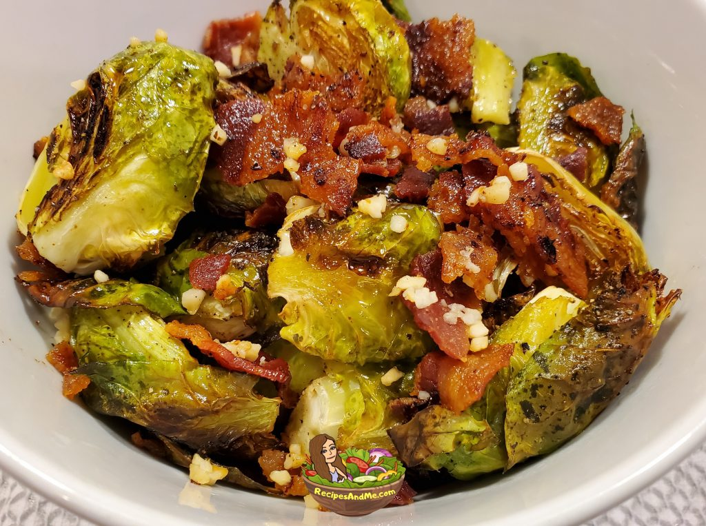 brussels sprouts with bacon and garlic