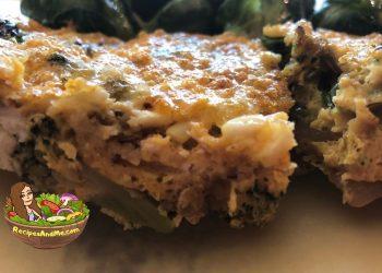 Broccoli Cheese Egg Bake-Casserole-RecipesAndMe.com