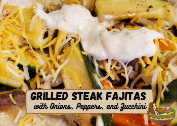 grilled steak fajita cover