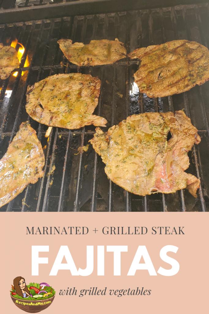 shoulder steak fajitas