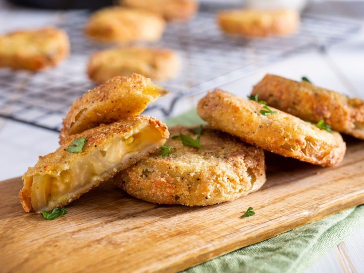 Fried Green Tomatoes With Herbs